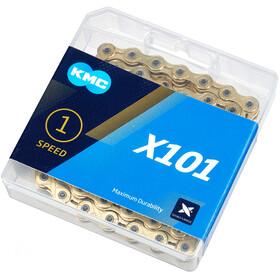 KMC X101 Kette 1-fach gold
